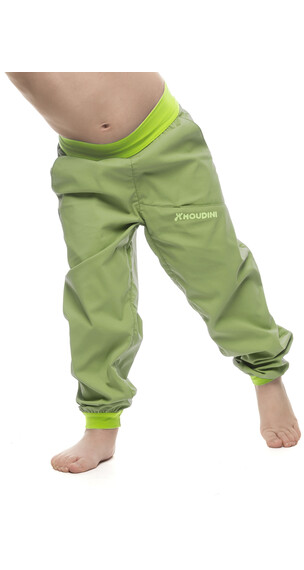 Houdini Kids Liquid Trail Pants Clover Green
